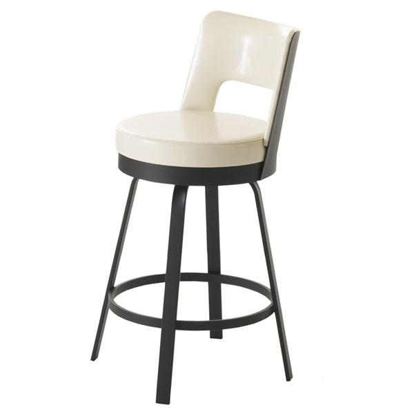 Brock Open Back Swivel Stool