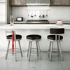 bar height stools with backs extra tall ebay outdoor stool swivel low backrest