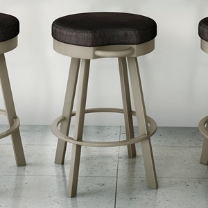 Bryce 26%27%27 Counter Stool - Swivel Seat, Backless