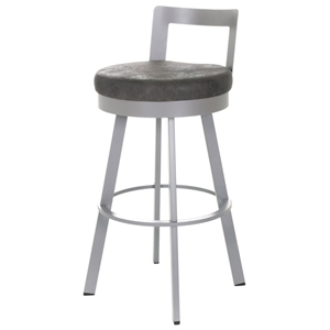 Blake 30%27%27 Bar Stool - Swivel, Low Backrest