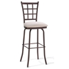 Jamie Square Back Swivel Stool - AMIS-41469