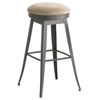 Contemporary Backless Grace Swivel Stool - AMIS-42414