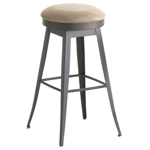 Contemporary Backless Grace Swivel Stool