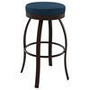 Swan 26'' Counter Stool - Swivel Seat, Backless, Steel - AMIS-42496-26