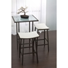 Nathan Modern Backless Bar Stool Dcg Stores