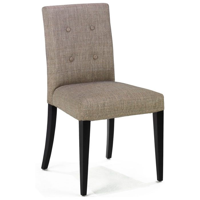 Wall Street Button Tufted Side Chair in Charcoal Set of 2  : 3107 chair front from www.dcgstores.com size 700 x 700 jpeg 36kB