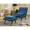 5th Avenue Armless Lounge Chair - Cerulean Blue - AL-LC281FABL