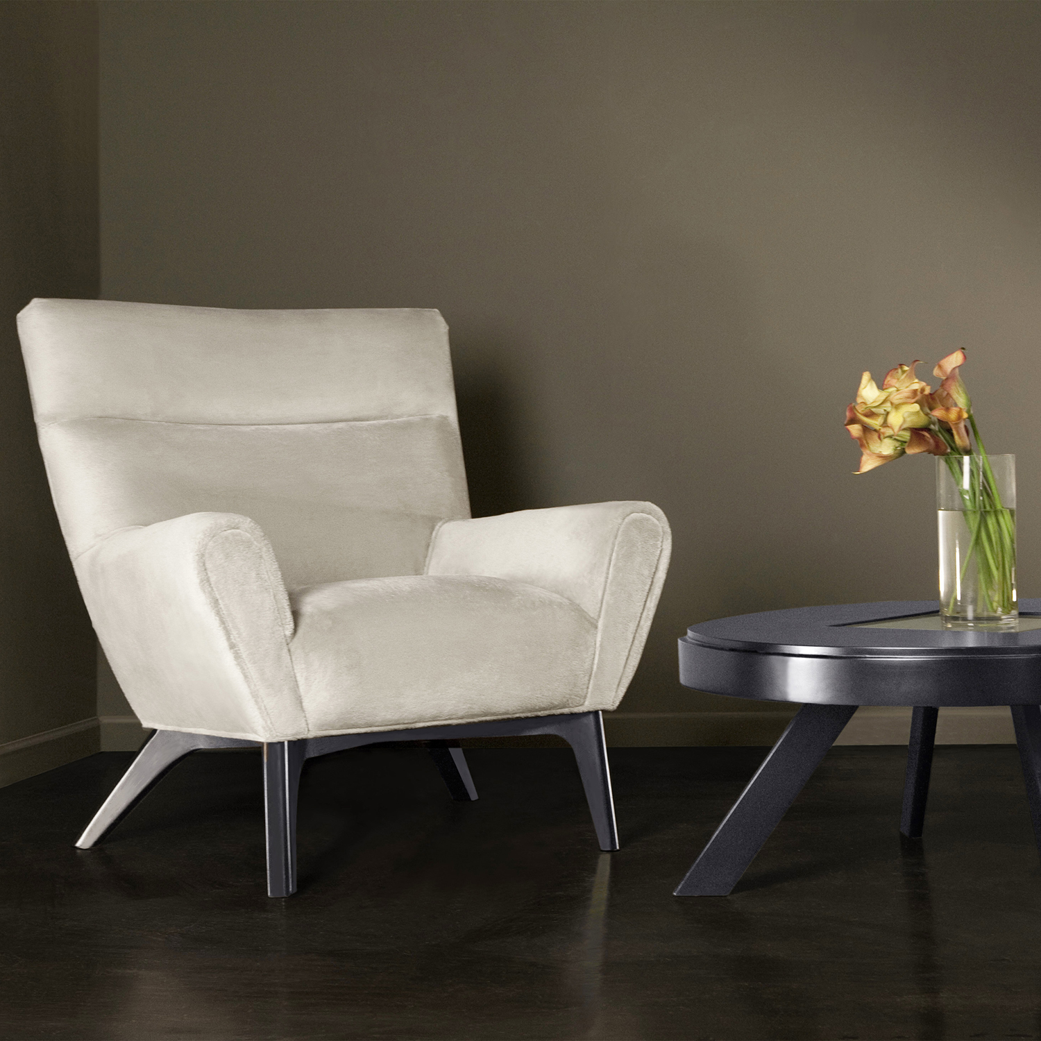 Laguna Chair - Beige Fabric - AL-LC1018CLBE