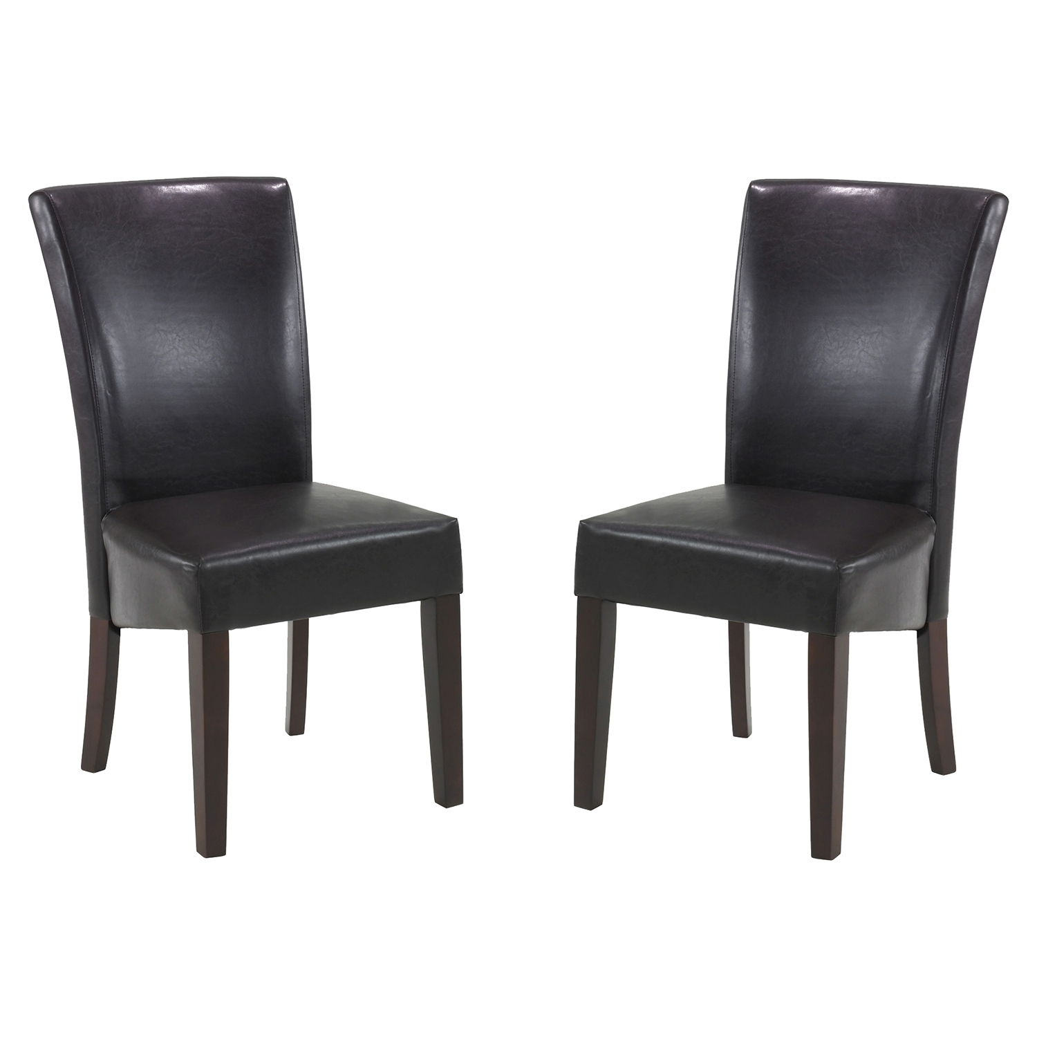 Montecito Side Chair - Brown (Set of 2)