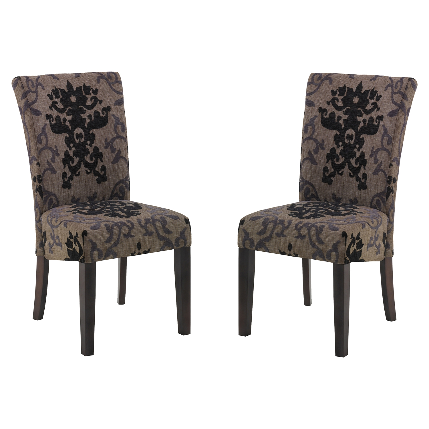 Montecito Side Chair - Toffee (Set of 2)