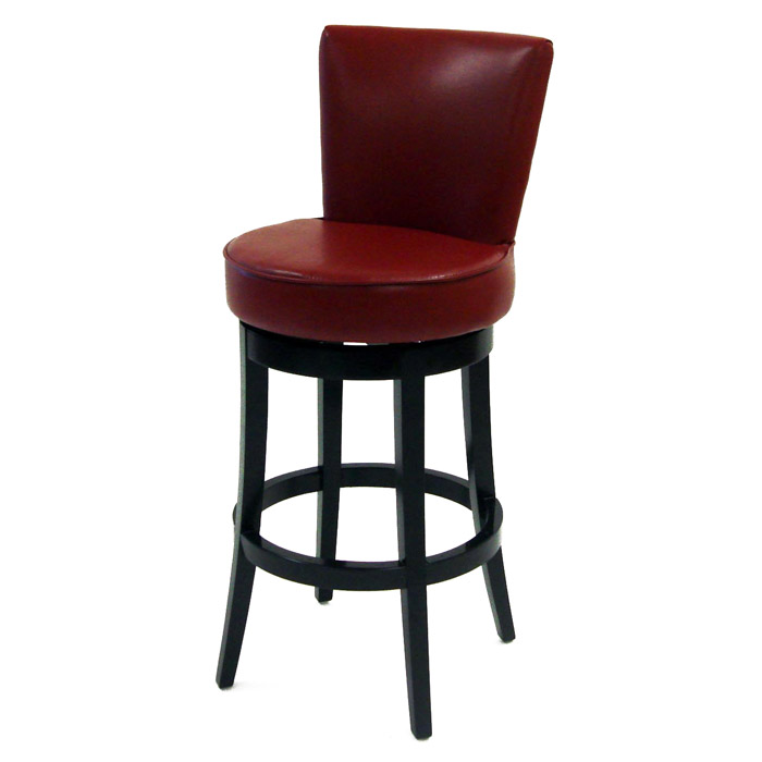 Boston 30 Quot Leather Swivel Bar Stool Dcg Stores