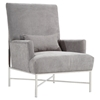 York Contemporary Accent Chair - AL-LC558CHGR
