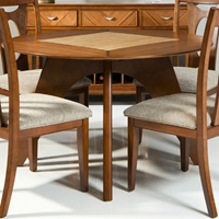 Avalon Two-Toned Round Dining Table