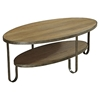 Barstow Coffee Table - Gunmetal Frame - AL-LCBACOGN