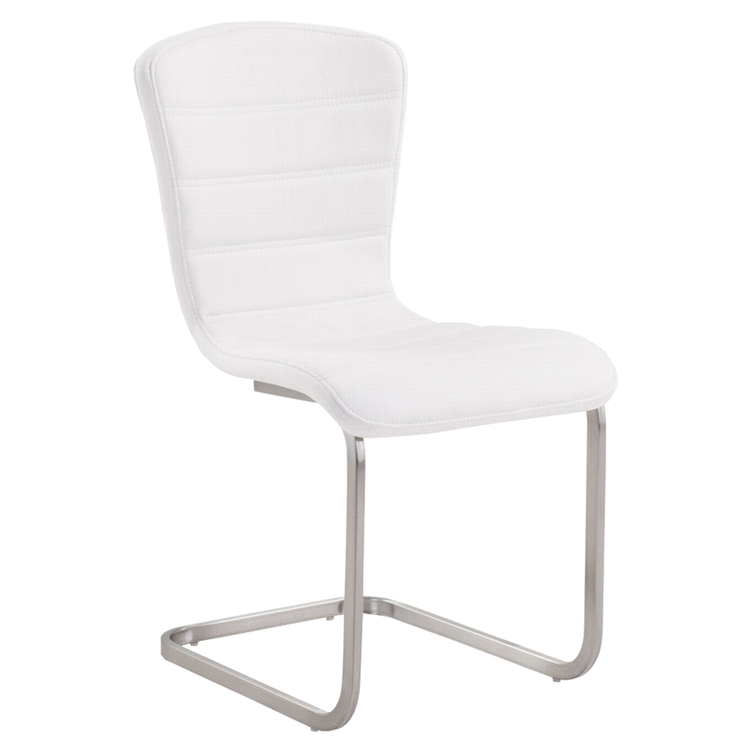 Cameo Modern Side Chair - White (Set of 2) - AL-LCCASIWH