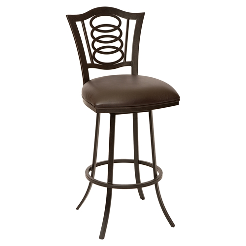 Essex 30 Quot Transitional Barstool Coffee Dcg Stores