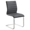 Fusion Contemporary Side Chair - Gray (Set of 2) - AL-LCFUSIGR