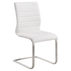 Fusion Contemporary Side Chair - White (Set of 2) - AL-LCFUSIWH