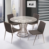 Ibiza Gray Dining Chair (Set of 2) - AL-LCIBCHGRB201
