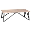 Regis Coffee Table - Pine Top - AL-LCRECOPINEWH