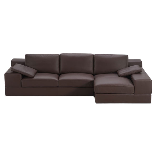 Rancho chaise sectional sofa dcg stores for Armen living patterson chenille chaise lounge