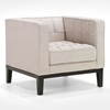 Roxbury Chenille Tufted Arm Chair - AL-LC10101X