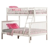 Woodland Twin over Full Bunk Bed - Ladder - ATL-AB5620