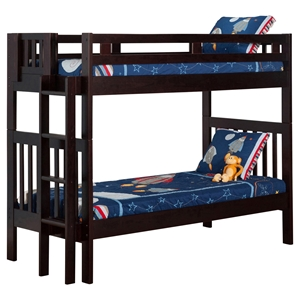 Cascade Twin over Twin Bunk Bed - Espresso