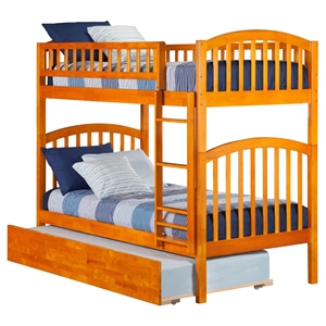 Richland Twin over Twin Bunk Bed - Urban Trundle Bed