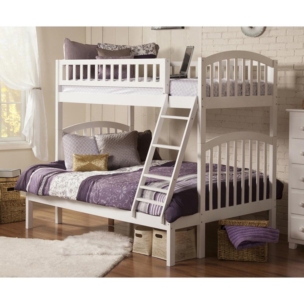 Bedroom Interior Design For Kids Bedroom Settee Bench Bedroom Room Colors Video Game Bedroom Decor: Richland Twin Over Full Bunk Bed - Ladder