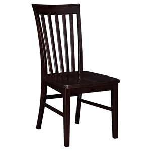 Mission Dining Chairs - Slat Back (Set of 2)