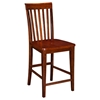 Mission Pub Chairs - Slat Back (Set of 2) - ATL-AD77124
