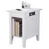 Nantucket Chair Side Table - Rectangular, Charging Station - ATL-AH1331