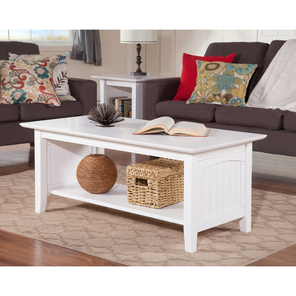 Nantucket Coffee Table Rectangular 1 Shelf Dcg Stores