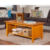 Nantucket Coffee Table - Rectangular, 1 Shelf - ATL-AH1530