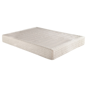 Quilted Mattress Foundation - Hardwood Frame