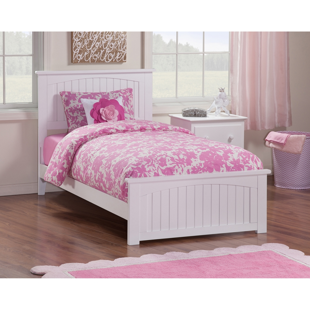 Nantucket Twin Wood Bed Matching Foot Board Dcg Stores