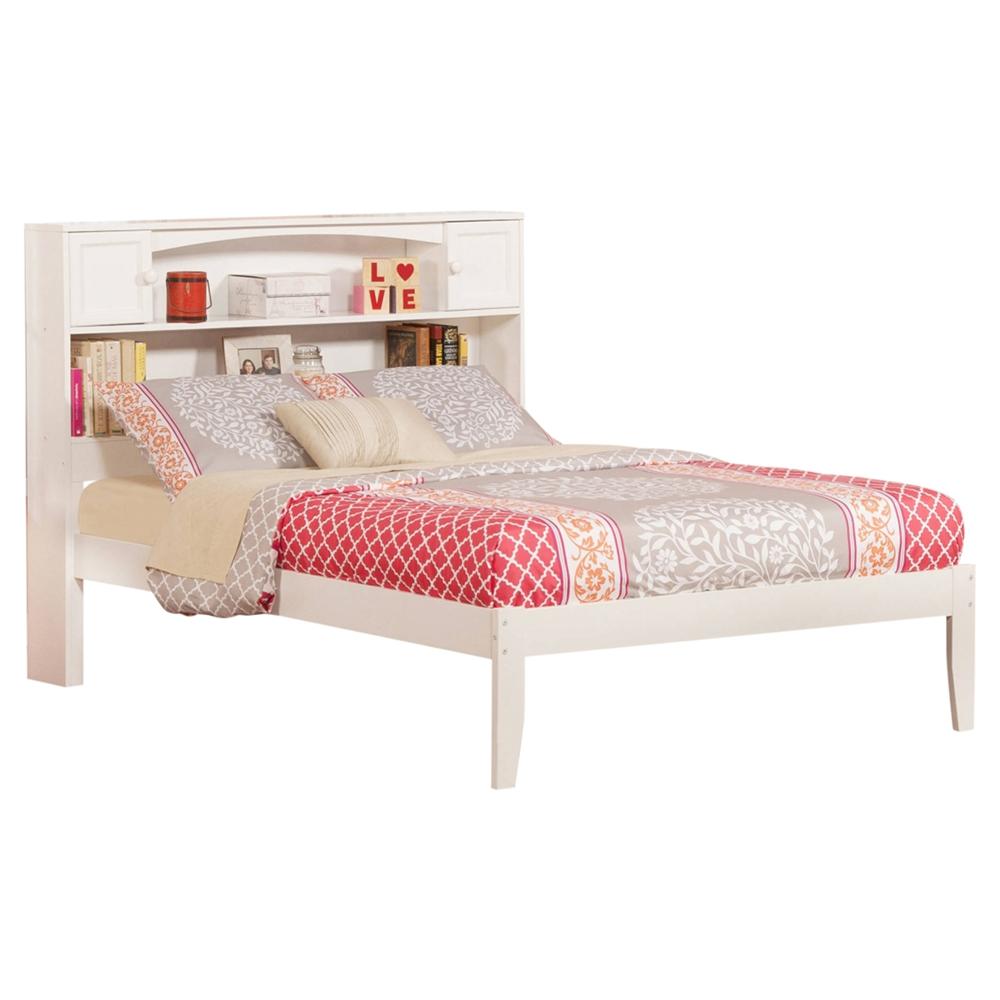 Newport Full Platform Bed Bookcase Headboard Dcg Stores