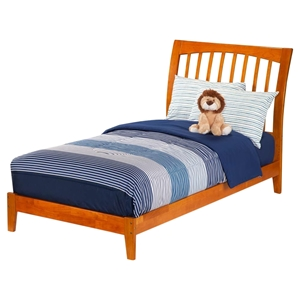 Orleans Sleigh Bed - Wood