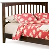 Brooklyn Mission Style Headboard in Antique Walnut - ATL-P-908X4