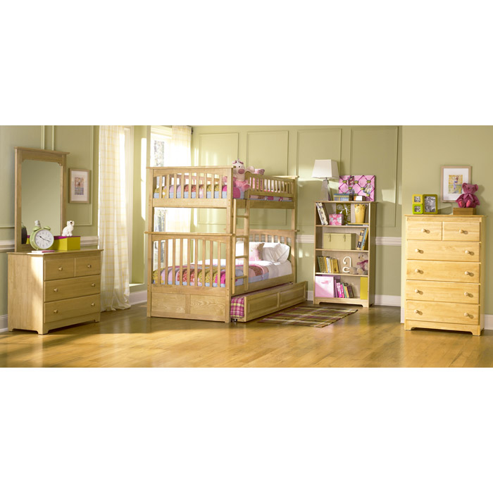 Columbia Twin Over Twin Bunk Bed W Trundle Dcg Stores