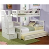 Columbia Twin Over Full Staircase Bunk w/ Trundle Bed - ATL-AB5573