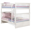 Columbia Full Size Slat Bunk Bed - ATL-AB5550