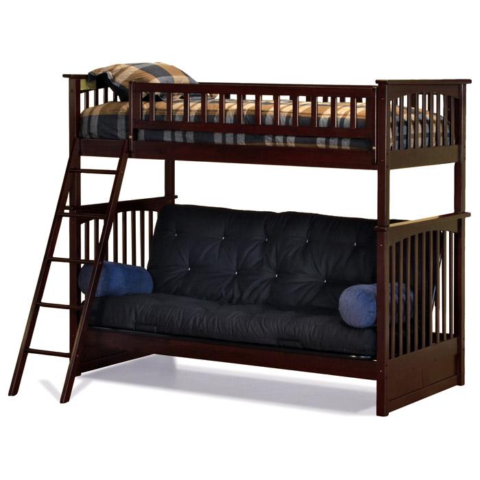 Bedroom Interior Design For Kids Bedroom Settee Bench Bedroom Room Colors Video Game Bedroom Decor: Columbia Twin Bunk Bed Over Full Futon Wood Bedroom Set