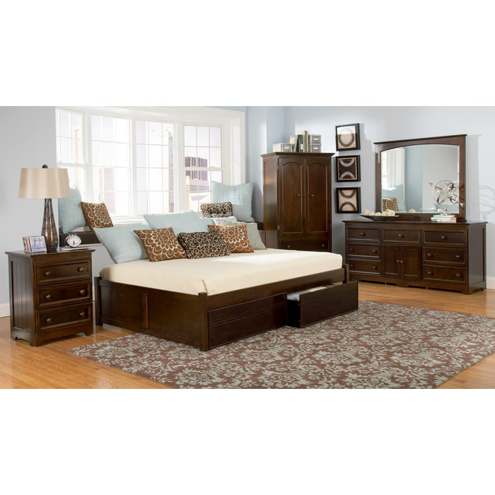 Concord Storage Platform Bed By Atlantic Furniture
