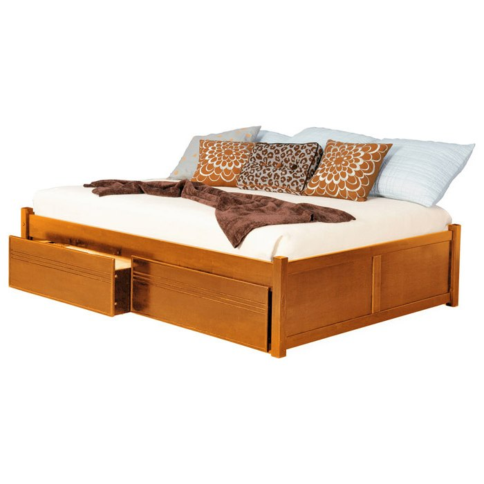 Platform Beds W Drawers : Concord platform bed w flat panels and drawers dcg stores