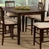 Deco 54 X Modern Pub Table W Butterfly Leaf Extension