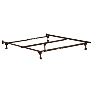 63155 Metal Bed Frame - Rollers