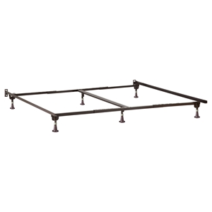 63166 Metal Bed Frame - Glides