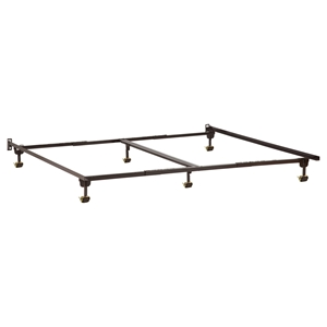 Metal Bed Frame - Rollers
